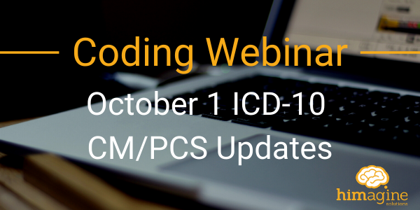 October 1 ICD-10 CM/PCS Updates
