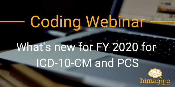 What's new for FY 2020 for ICD-10-CM and PCS